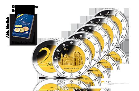 2-Euro-Gedenkmünzen Niedersachsen