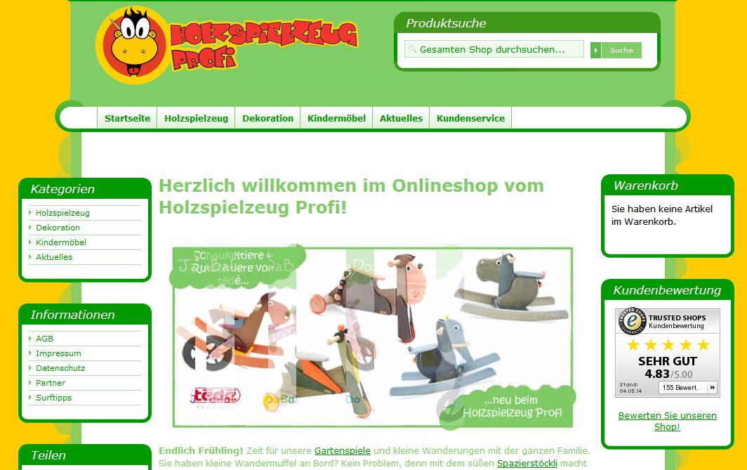 Holzspielzeug günstig kaufen