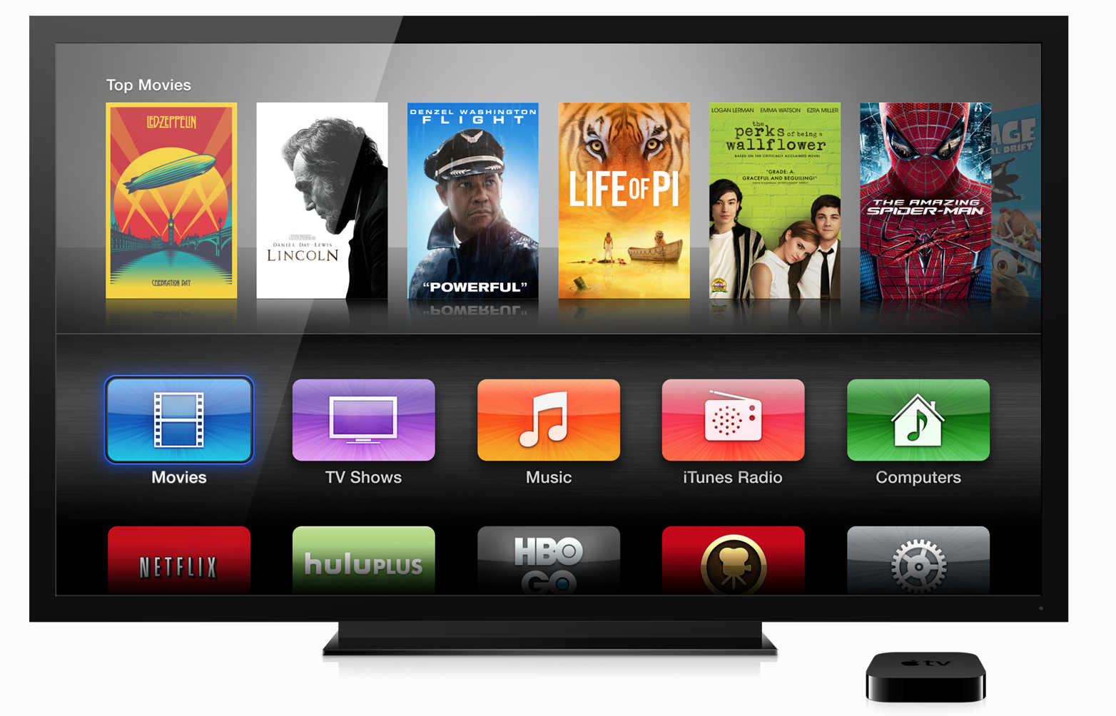 Apple-TV Screen